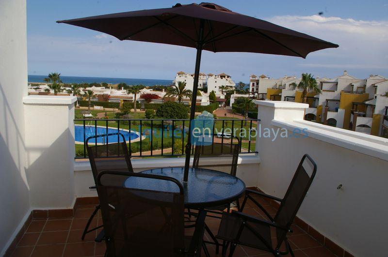 Alquiler de apartamento en Mirador de Vera RA354