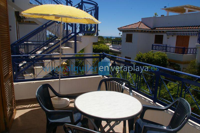 Alquiler de apartamento en Veramar 2, Vera playa  RA454