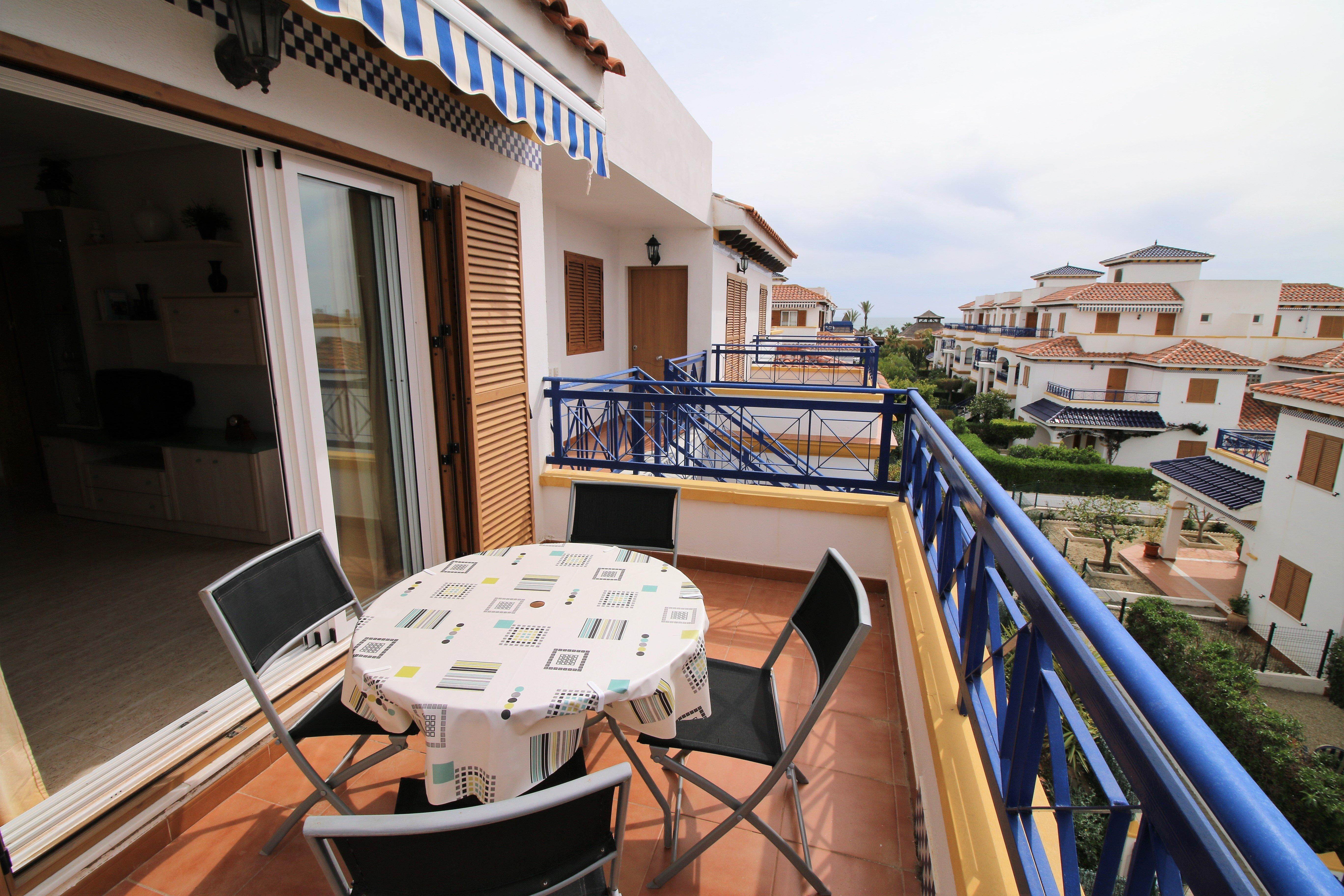 Alquiler de apartamento de 2 dormitorios en Veramar 5, Vera playa RA462