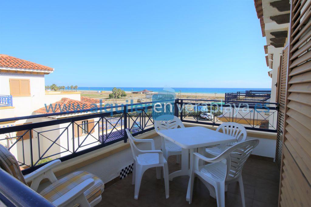 Alquiler de apartamento de 2 dormitorios en Veramar 5, Vera playa RA474