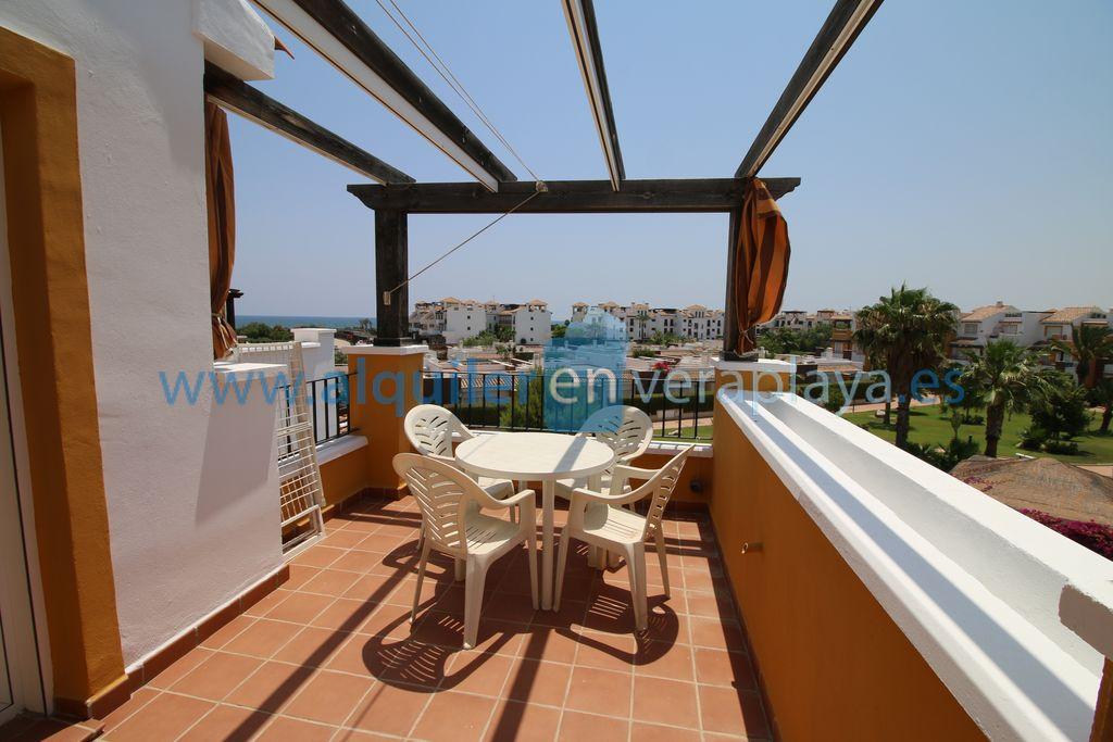 Alquiler de apartamento de 1 dormitorio en Mirador de Vera RA523