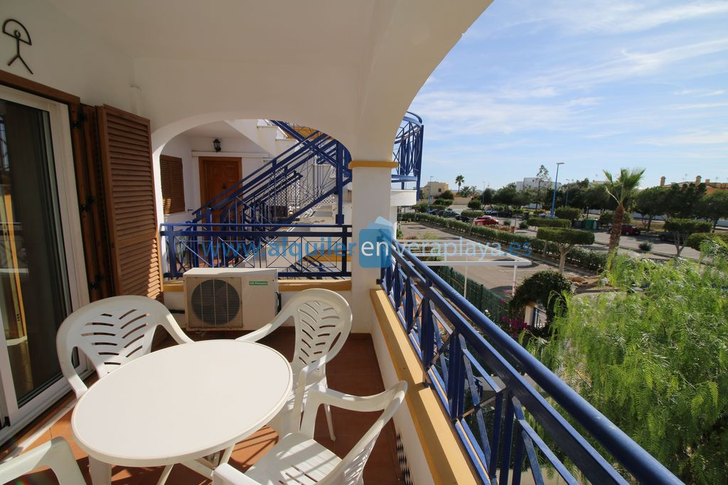 Alquiler de apartamento de 2 dormitorios en Veramar 5, Vera playa RA556