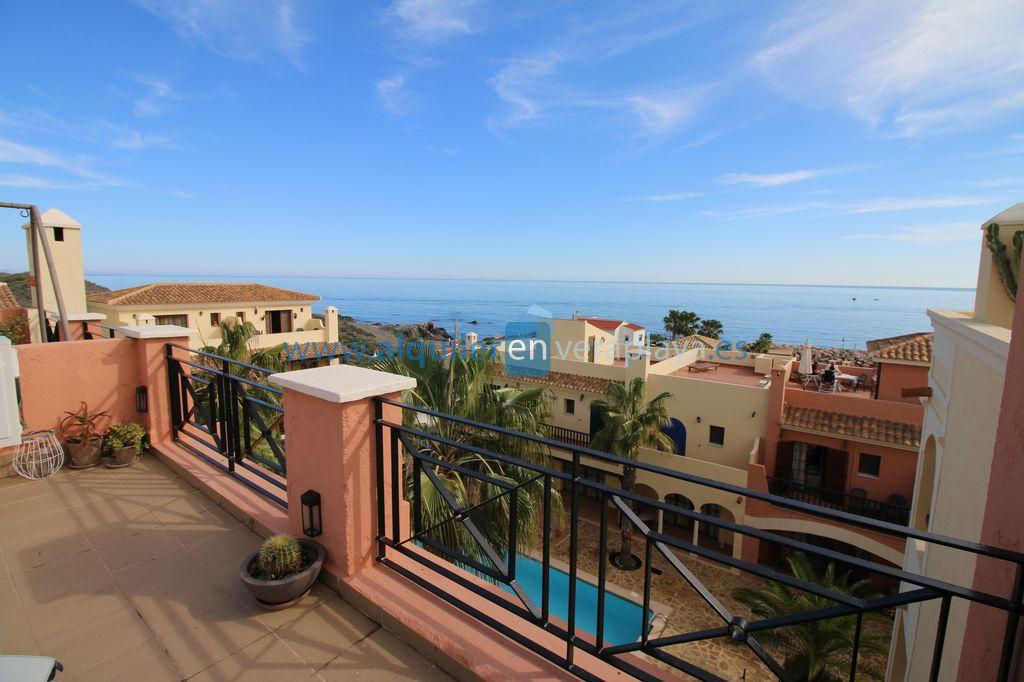 Alquiler de duplex de 2 dormitorios en harbour ligth Villaricos SA790