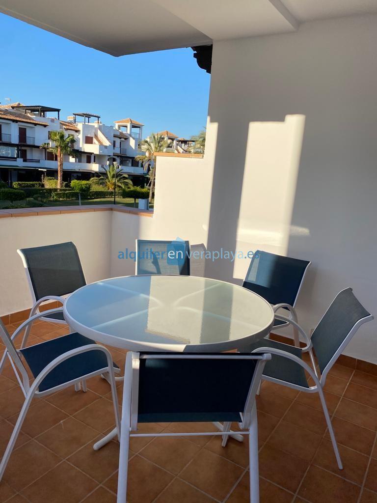 Alquiler de apartamento de 1 dormitorio en Jardines de Nuevo Vera Vera playa RA558