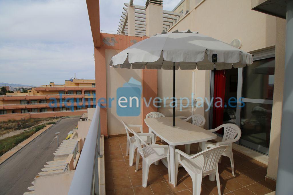 Alquiler de apartamento de 2 dormitorios en Marina Rey, Vera playa RA559