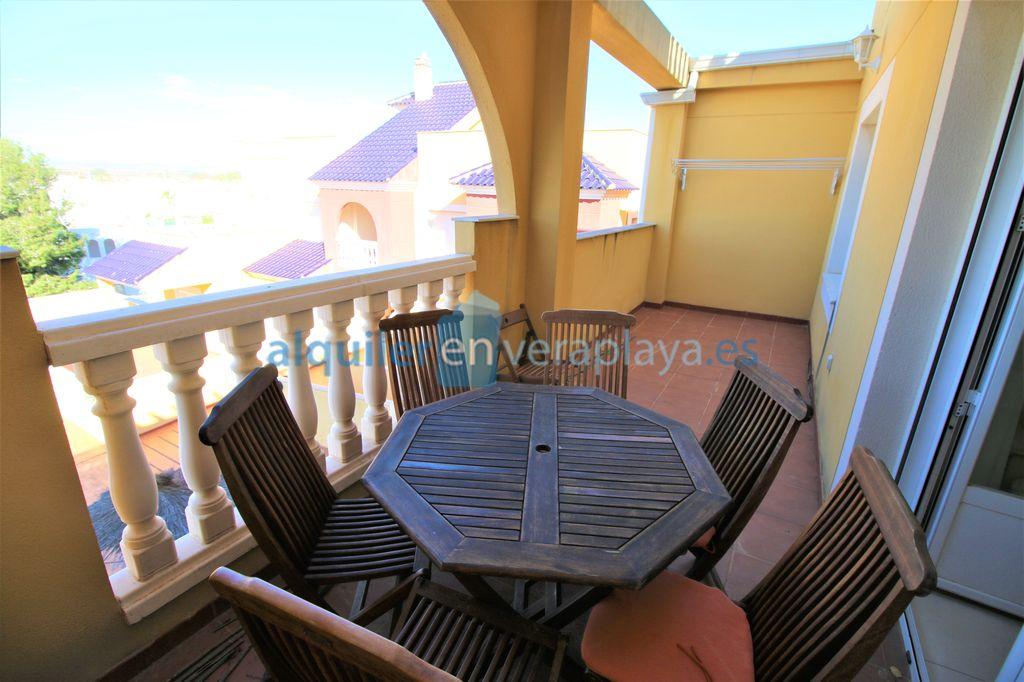 Apartamento de 3 dormitorios en Vera playa El Ancla RA544