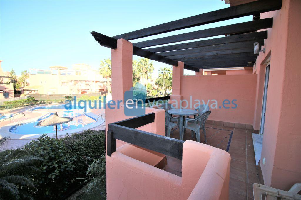 Alquiler de apartamento de 2 dormitorios en Vera Azul Vera playa RA598