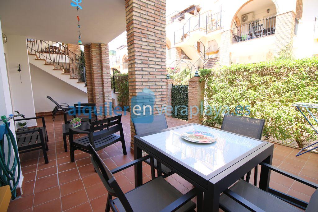 Alquiler de apartamento de 2 dormitorios en Vera playa Al Andaluss Residencial RA595